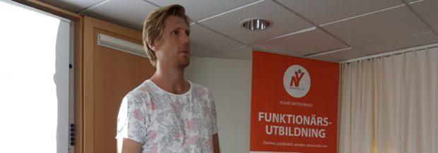 Idrottspsykologen Rasmus Wallin-Tornberg