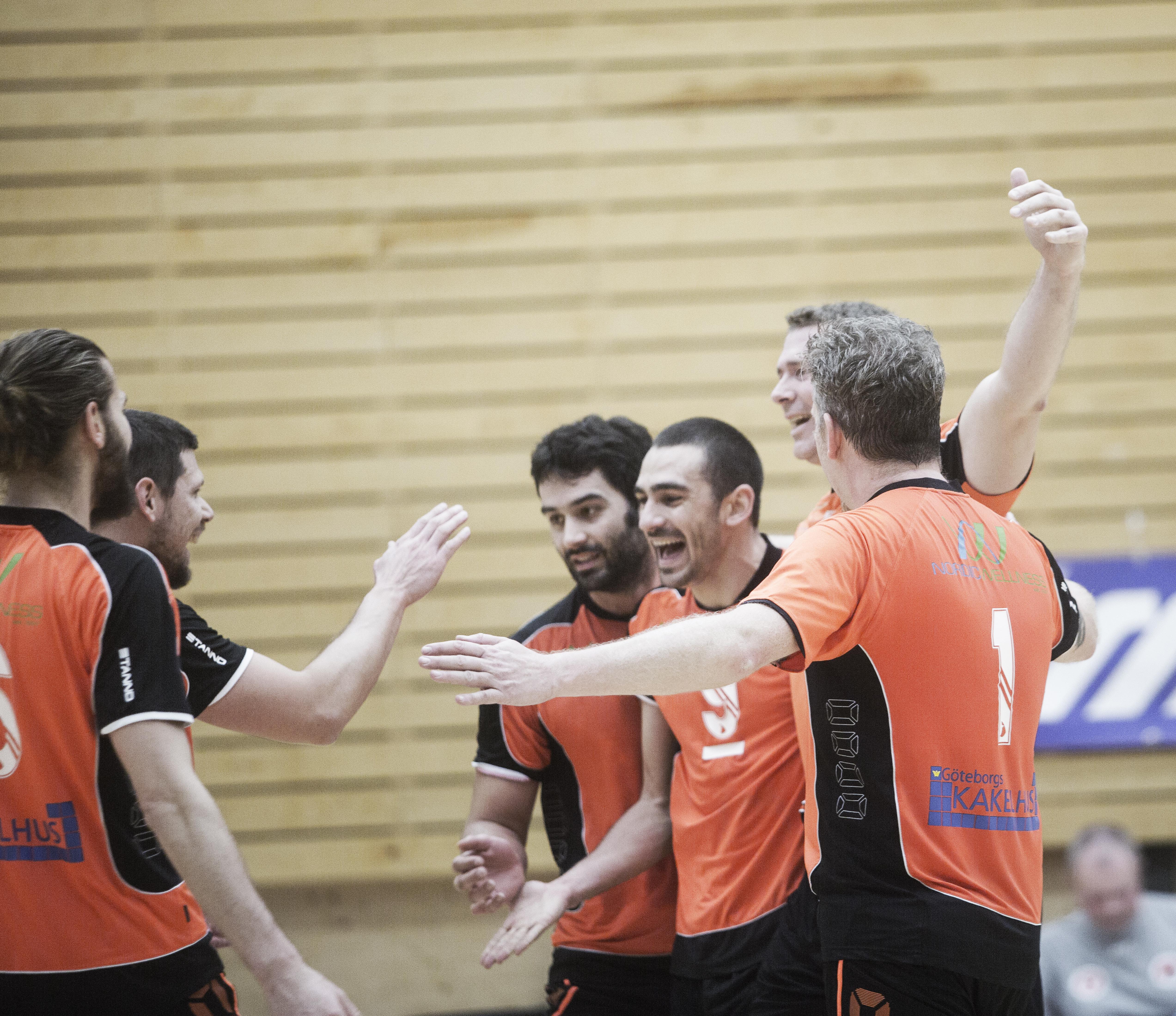 Volleybollmatch – Göteborg United vs Falkenberg